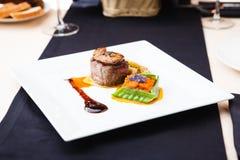 Филе говядины с картошкой Стоковое Изображение
