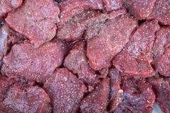 Филе от красных оленей - мяса игры стоковые изображения