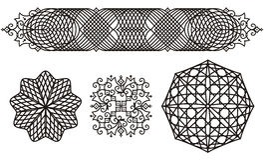 филигранные орнаменты Стоковая Фотография