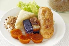 Филиппинская сладостная еда стоковая фотография