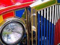 филиппинское jeepney Стоковое фото RF