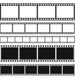 Фильм прокладок и собрание штемпелей, иллюстрация вектора запаса иллюстрация вектора