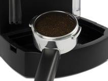 фильтр espresso заземляет держатель Стоковая Фотография