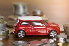 Финансирование автомобиля или арендуя концепция стоковое изображение rf