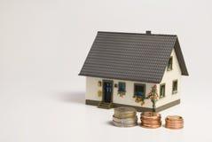 Финансирование дома Стоковые Изображения