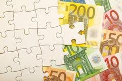 Финансовая головоломка Стоковое фото RF