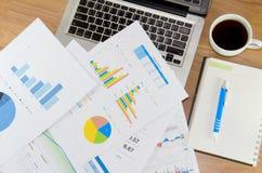 Финансовая диаграмма стоковые изображения