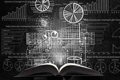 Финансовая концепция образования стоковое фото rf