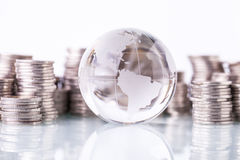 Финансовая концепция, домашние сбережения Стоковые Фото