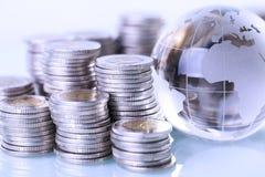 Финансовая концепция, домашние сбережения Стоковое фото RF