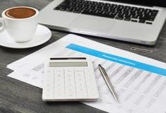 Финансовая оценка стоковое изображение