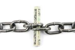 финансовая поддержка принципиальной схемы Стоковая Фотография RF