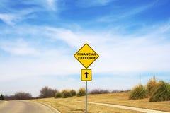 Финансовая свобода Стоковые Изображения RF