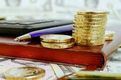 Финансовая стратегия Стоковые Изображения RF