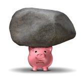 Финансовое затруднение Стоковое Изображение RF