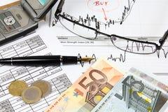 финансовое планирование Стоковые Фотографии RF