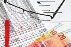 финансовое планирование Стоковое Изображение