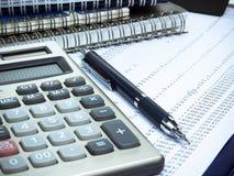 финансовое планирование Стоковые Изображения RF