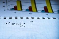 Финансовое планированиe бизнеса, балансирует портфель ценных бумаг стоковая фотография
