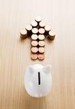 Финансовое решение Стоковые Фото