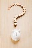 Финансовое решение Стоковая Фотография