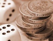 финансовохозяйственная азартная игра Стоковые Фотографии RF