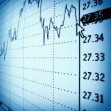 финансовохозяйственная диаграмма Стоковые Изображения