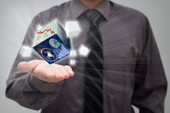 Финансовохозяйственная принципиальная схема Стоковые Фотографии RF