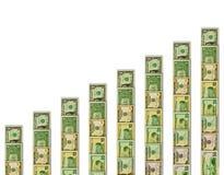 финансовохозяйственная тенденция вверх Стоковое Изображение RF