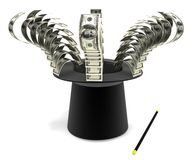 финансовохозяйственное волшебство Стоковое Изображение RF