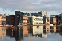 Финансовохозяйственное заречье, Копенгаген Стоковые Фото