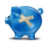 финансовохозяйственное спасение Стоковые Изображения