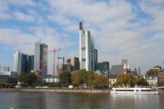 Финансовохозяйственное Франкфурт Стоковая Фотография