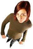 финансовохозяйственно имеющ женщину проблем стоковые фотографии rf