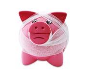 финансовохозяйственно побеспокоено стоковое изображение