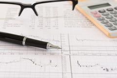 финансовохозяйственно стоковая фотография