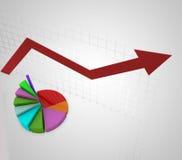 Финансовохозяйственные диаграммы и диаграммы Стоковая Фотография