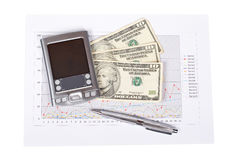 финансовохозяйственные инструменты Стоковые Изображения RF