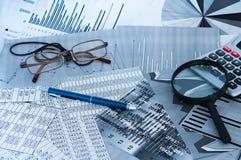 Финансовохозяйственный анализ стоковая фотография