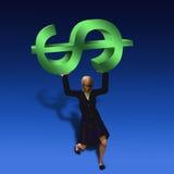 финансовохозяйственный вес Стоковое Изображение RF