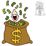 финансовохозяйственный ветробой Стоковые Изображения RF