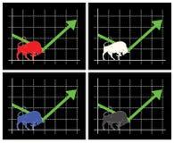 финансовохозяйственный план-график Стоковые Изображения RF