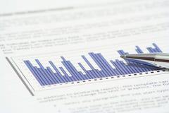 финансовохозяйственный рапорт Стоковое Изображение