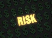 финансовохозяйственный риск иллюстрация штока