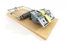 финансовохозяйственный риск 3d иллюстрация штока
