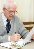 финансовохозяйственный делая план Стоковое фото RF
