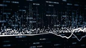 Финансовые диаграммы и диаграммы показывая увеличивая выгоды Стоковая Фотография RF