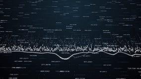 Финансовые диаграммы и диаграммы показывая увеличивая выгоды Стоковые Фото
