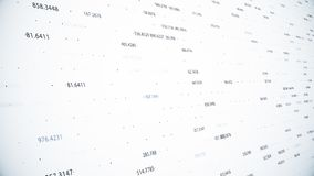 Финансовые диаграммы и диаграммы показывая увеличивая выгоды Стоковое Изображение