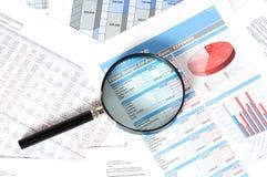 Финансовые документы Стоковая Фотография
